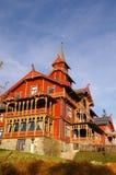 Hotel Oslo del parque de Holmenkollen Foto de archivo