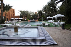 Hotel in Ouarzazate Stock Photography