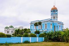 Hotel Palacio Azul en Cienfuegos, Cuba Foto de archivo libre de regalías