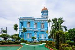 Hotel Palacio Azul en Cienfuegos, Cuba Imágenes de archivo libres de regalías