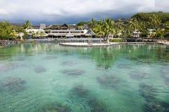 Hotel Papeete intercontinental Fotos de Stock Royalty Free