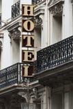 Hotel, París, Francia Fotos de archivo libres de regalías