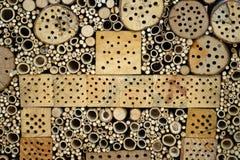 Hotel para los insectos Imagen de archivo libre de regalías