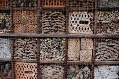 Hotel para los insectos Imagen de archivo