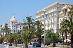Hotel parallelamente - Nizza Immagine Stock