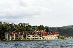 Hotel in Parapat Royalty Free Stock Photo