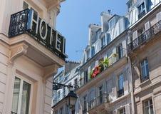 Hotel in Paris lizenzfreie stockfotografie