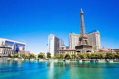 Hotel Paris in Las Vegas Stock Photo