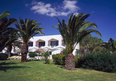 Hotel park. Tunisia, Hammamet, hotel Iberostar Phinicia Stock Photo