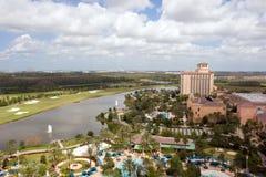 hotel park Zdjęcie Royalty Free