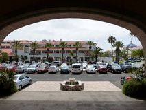 Hotel-Parken Lizenzfreies Stockbild