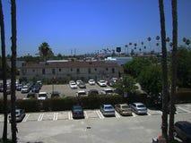 Hotel-Parkplatz lizenzfreies stockfoto