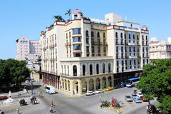 Hotel Parque centraal in Havana Royalty-vrije Stock Foto's