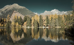Hotel Patria in High Tatras, Slovakia Royalty Free Stock Images