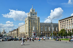 Hotel Peking in Moscow, Russia Royalty Free Stock Photos