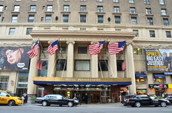 Hotel Pennsylvania. Midtown Manhattan, New York City Stock Images