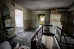 Hotel perdido alemán del lugar Imagen de archivo