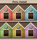 Hotel for pets Stock Images
