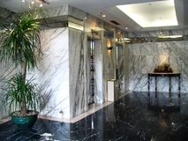 Hotel piacevole Fotografia Stock