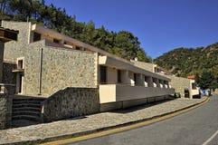 Hotel for pilgrims at the monastery Kykkos Stock Image