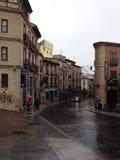 Hotel pintoresco en Toledo, España Imagen de archivo libre de regalías