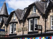 Hotel in Pitlochry royalty free stock photos