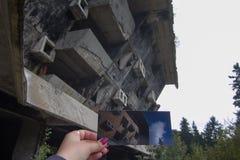 Hotel plympic abbandonato Fotografie Stock Libere da Diritti