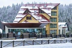 Hotel in Poiana Brasov, Romania Fotografia Stock Libera da Diritti