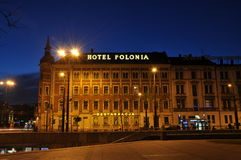 Hotel In Poland Royalty Free Stock Photo