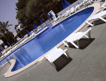 Hotel pool Stock Images
