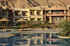 Hotel pool. In Dahab, Egypt Stock Image