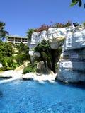 Hotel-Pool Lizenzfreies Stockbild