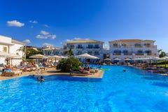 Hotel-Pool Stockbild