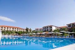 Hotel pool Stock Image
