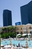 Hotel Pool - Bellagio Vegas Stock Images