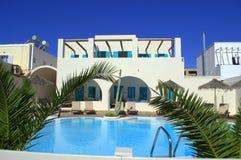 Hotel pool Greece Stock Image
