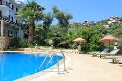 Hotel Pool Royalty Free Stock Photo