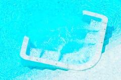 Hotel pool resort Stock Image