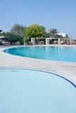 Hotel pools royalty free stock photos
