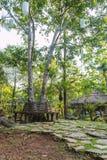 Hotel por el río Kwai Kanchanaburi, Tailandia Imagen de archivo libre de regalías