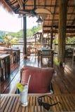 Hotel por el río Kwai Kanchanaburi, Tailandia Imágenes de archivo libres de regalías