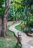 Hotel por el río Kwai Kanchanaburi, Tailandia Imagenes de archivo