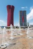Hotel Porta Fira, Barcelona stock photo