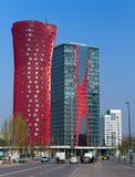 Hotel Porta Fira, Barcelona Spanje Stock Afbeelding