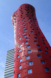 Hotel Porta Fira, skyscraper hotel designed by Toyo Ito. Royalty Free Stock Images