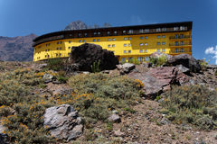Hotel in Portillo Chile Royalty Free Stock Image