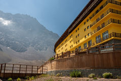 Hotel in Portillo Chile Stock Photography