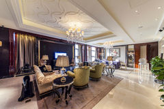 Hotel Presidential Suite Parlor Royalty Free Stock Images