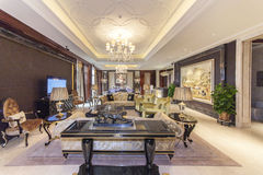 Hotel Presidential Suite Parlor Stock Photos