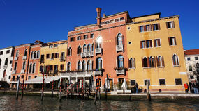 Hotel Principe on the Grand Canal ,Venice Royalty Free Stock Photos
